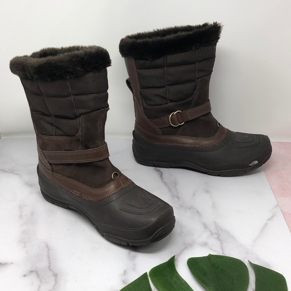 The North Face Shoes - The North Face TNF Winter Grip Brown Boots 9 H1